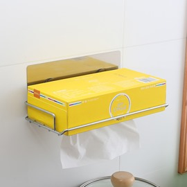 New Style Concise Botton Draw-out Toilet Paper Holder