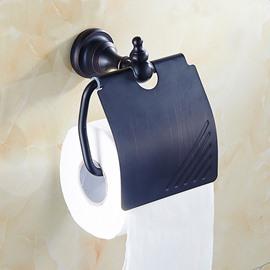 European Style Black Bronze Toilet Paper Roll Holder