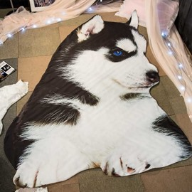 3D Husky Shaped Super Soft Polyester Quilt