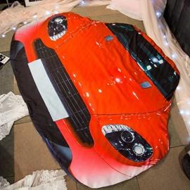 Modern Style 3D Running Car Design Skincare Polyester Quilt
