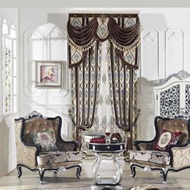 Elegant High Precision Chenille High Shading Degree Polyester Curtain