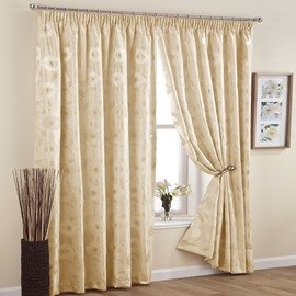 Graceful Light Blocking Pinch Pleat Curtain