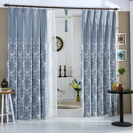 Graceful High Shading Degree Double Pinch Pleat Curtain