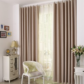 Contemporary Noise Reducing & Blackout Custom Curtain