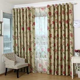 Contemporary Top Quality Grommet Top Curtain