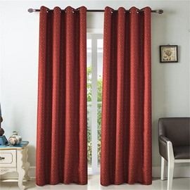 Polka Dot Small Window Curtain 2 Pieces Cloth Living Room Drapes