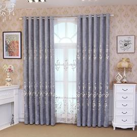 Blackout Elegant Romantic Modern Living Room Curtain