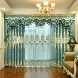 Elegant Comfort European Style Living Room Curtains