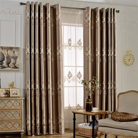 Blackout Modern Decoration High Quality Grommet Top Curtain