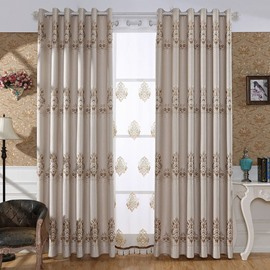 Beddinginn Jacquard Valance European Curtain Decoration Curtains/Window Screens