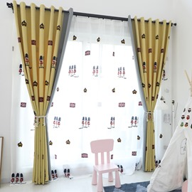 Custom Blackout Fresh Style Living Room Sheer Curtain