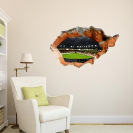 New Arrival Amazing 3D Court Wall Sticker