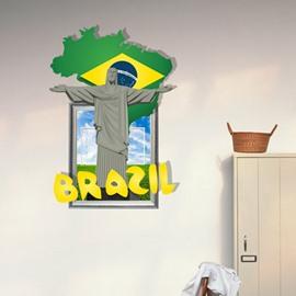 New Arrival Elegant 3D Jesus Wall Sticker