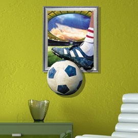New Arrival Elegant 3D Football Wall Sticker
