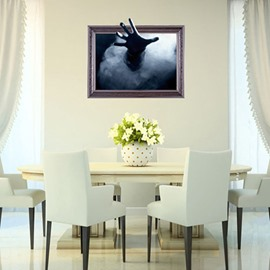 Amazing Outstretched Hand Print Halloween Decoration 3D Wall Sticker