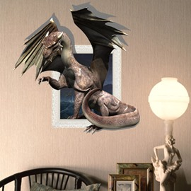 New Arrival Amazing 3D Pterosaur Wall Sticker