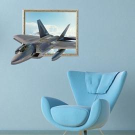 Amazing Creative 3D Aircraft Wall Sticker