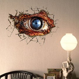 Stunning Creative 3D Machine Eye Wall Sticker