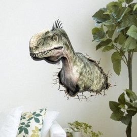 Amazing Creative 3D Dinosaur Wall Sticker