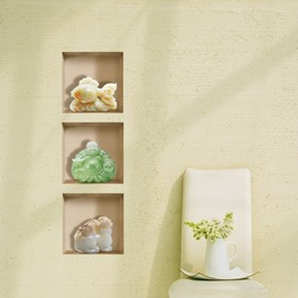 Simple Style Beautiful Jade Ornaments Pattern 3D Wall Stickers