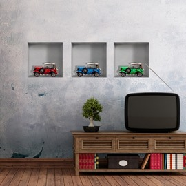 New Arrival Amazing 3D Car Patterns Wall Stickers