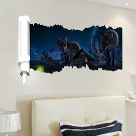 New Arrival Woff 3D Wall Stickers for Room Decoration