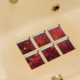 Hot Sale Starlit Sky Pattern 3D Bathtub Stickers