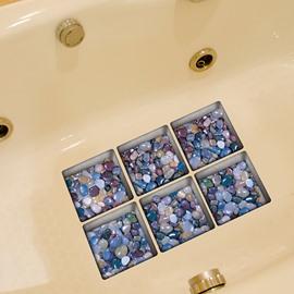 Creative Stone 3D Bathtub Stickers For Room Decoration