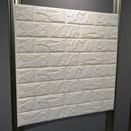 Polyethylene Foam 3D TV/Sofa Background Waterproof Wall Stickers