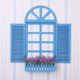 Fabulous Mediterranean Style Window Design 3D Wall Decorations