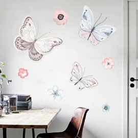 Vivid Butterfly Pattern Creative DIY Home Decor Waterproof Removable Wall Sticker