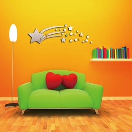 3 Color Meteor Shower 3D Acrylic TV And Sofa Background Wall Stickers