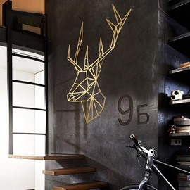 Removable Creative Reindeer Wall Stickers