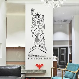 Removable Statue of Liberty Wall Stickers