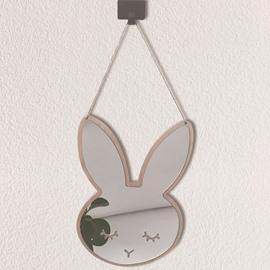 Cartoon Rabbit Shape Mirror Acrylic Wall Stickers Children's Room Decoration