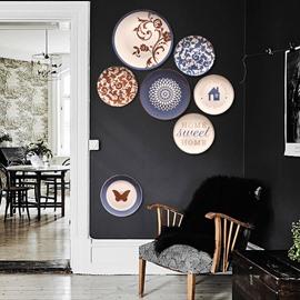 Classic Ceramic Plates Dec Crafts Wall Art