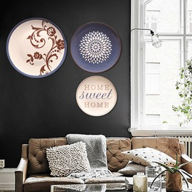 Classic Crafts Ceramic Plates Plant Wall Dec