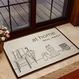 Amazing Simple Style Solid Umbrella Non-slip Doormat