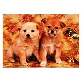 Elegant Super Cute Dogs Pattern Non-slip Doormat