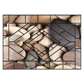 Simple Amazing Cobblestones Pattern Non-slip Doormat