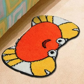 Super Cute Cartoon Crab Non-slip Doormat