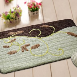 Wonderful Coffee Cane Vine Non-Slip Doormat