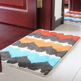 Top Quality Heart Pattern Non-Slip Doormat