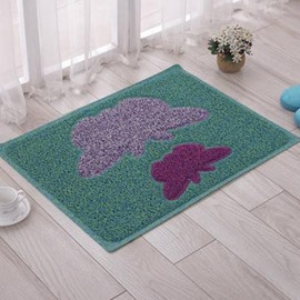 Pretty Butterfly Environmental Protection PVC Doormat