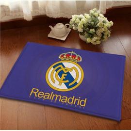 Creative Football Club Theme Real Madrid Emblem Area Rugs