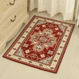 Classic Printed Patterned Bedroom Living Room Area Rug