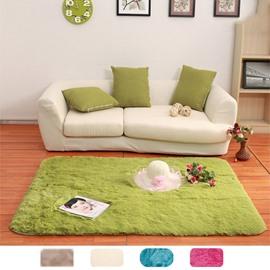 Fluffy Faux Fur Sheepskin Rug Non Slip Large Floor Carpet Plush Soft 2.6*5.2ft