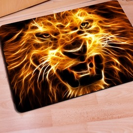 Vivid Creative Design Lion Pattern Home Decorative Entrance Doormat