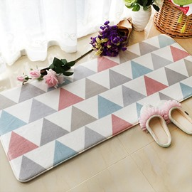 Fresh Simple Style Unique Geometric Pattern Design Rectangle Area Rug
