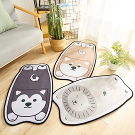 Ins Style Cartoon Style Home Use Water Absorption Anti-Slip Area Rug